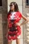 Dress Red Garden 012391 1