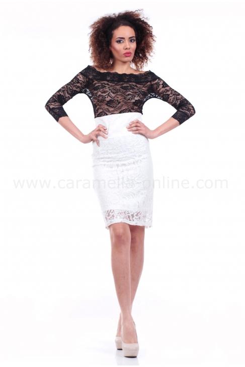 Пола White lace