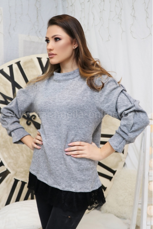 Tunic Gray Casual 22257