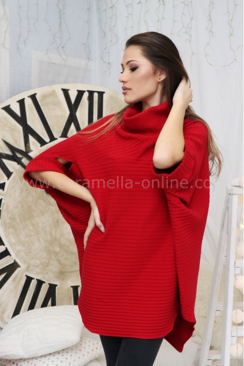 Tunic Red Casual 022258
