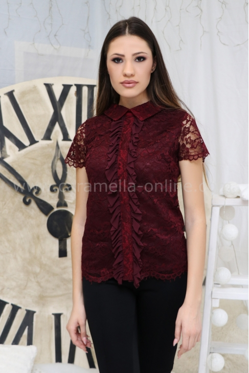 Top Chic Bordo 022263