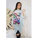 Tunic Blue Butterfly