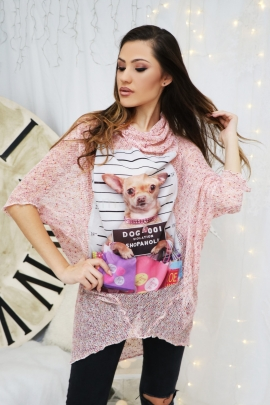 Tunic Pink Dog