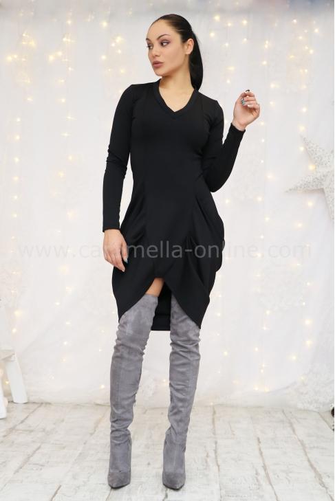 Рокля Black Cotton 012397