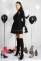 Dress Black Queen 012405 3