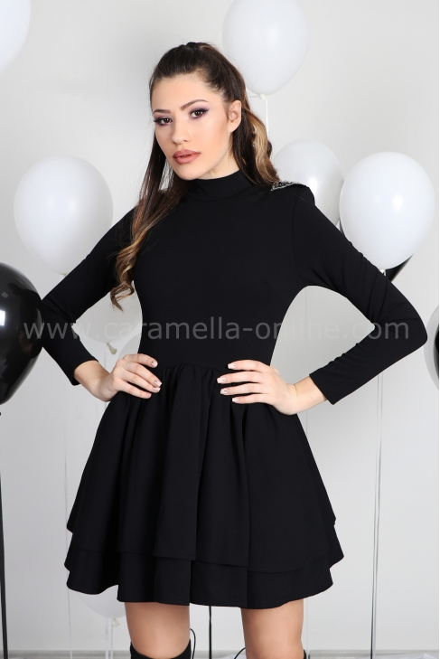 Dress Black Queen 012405