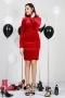 Dress Red Balmain 012411 1