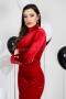 Dress Red Balmain 012411 2