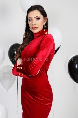 Dress Red Balmain