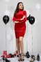 Dress Red Balmain 012411 4