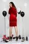 Dress Red Balmain 012411 5