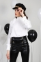 Blouse White Chiffon 022280 3