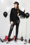 Shirt Black Fringes 022283 2