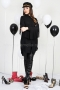 Shirt Black Fringes 022283 3