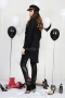 Shirt Black Fringes 022283 4