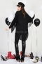 Shirt Black Fringes 022283 5
