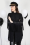 Shirt Black Fringes 022283 1