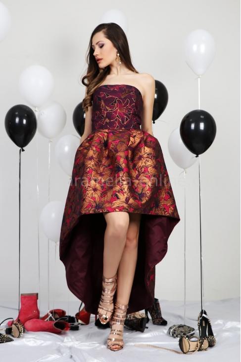 Dress Golden Flowers 012413