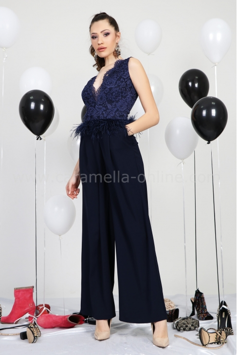 Jumpsuit Blue Grandeur 042031