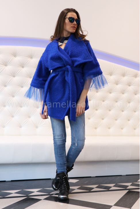 Палто-Жилетка Blue Cashmere 062040