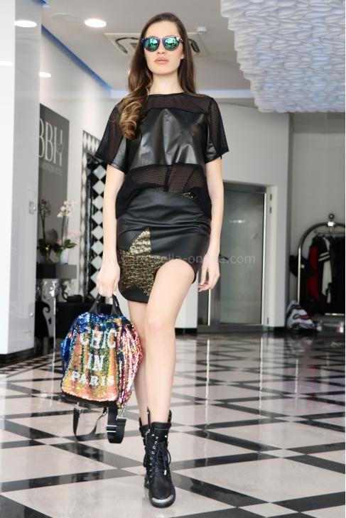 Skirt Gold Star 032090