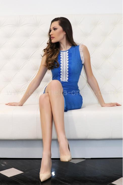 Рокля Blue Love 012421