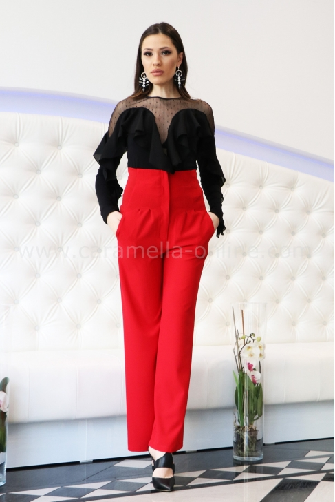 Pants Red Lux 032092