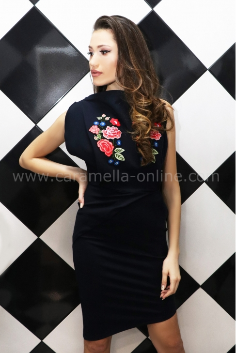 Dress Blue Rose 012423