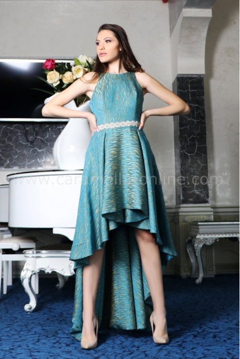 Dress Blue Split 012437