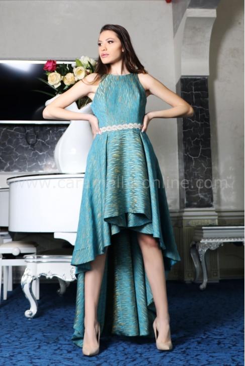 Рокля Blue Split 012437