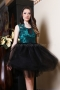 Dress Lux Lace Emerald 012436 2
