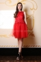 Dress Red Lace 012429 3