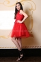 Dress Red Lace 012429 4