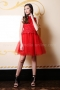 Dress Red Lace 012429 1