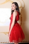 Dress Red Lace 012429 5