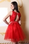 Dress Red Lace 012429 6