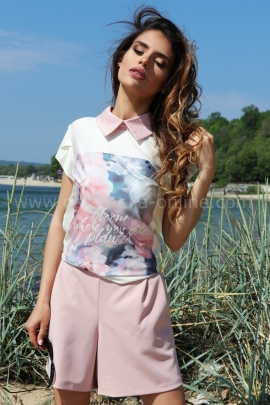 Blouse Pink Bloom