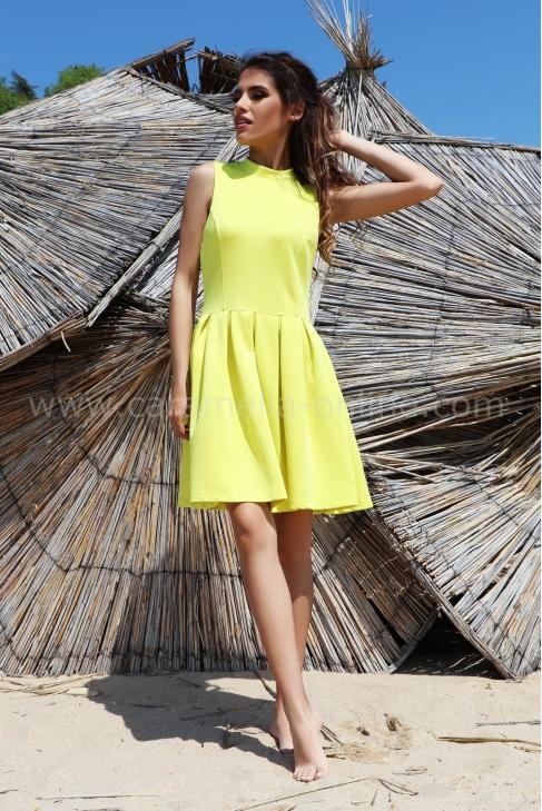 Рокля Yellow 012448