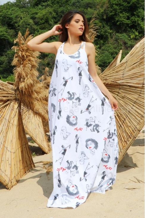 Dress Beach Dress Marilyn 012458