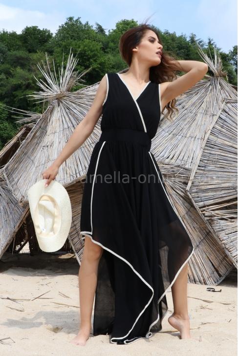 Dress Black Veil 012464