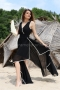 Dress Black Veil 012464 2