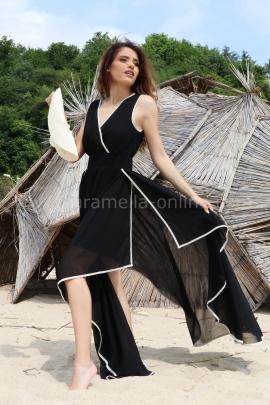 Dress Black Veil