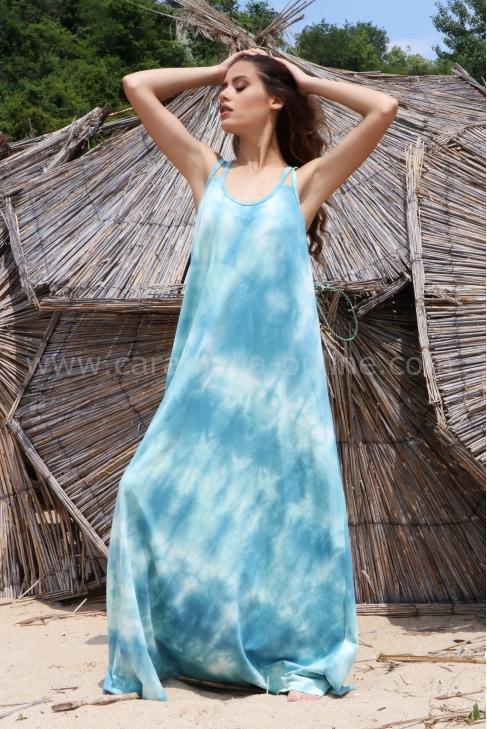 Dress Beach Blue 012473