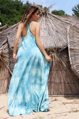 Рокля Beach Blue