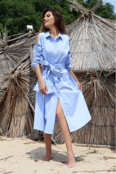 Dress Lily Blue 012474