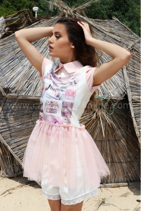 Top Pink Tull 022312