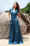 Dress Blue Emerald 012477 3