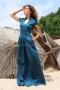 Dress Blue Emerald 012477 1