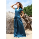 Dress Blue Emerald