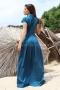 Dress Blue Emerald 012477 4